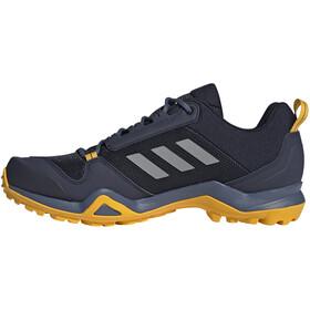adidas TERREX AX3 Hiking Shoes Lightweight Men, legend ink/grey three/active gold